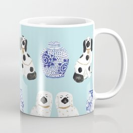 Staffordshire Dogs + Ginger Jars No. 7 Coffee Mug