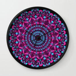 Edna Mandala Wall Clock