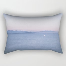 Sunset Gaeta, Italy Rectangular Pillow