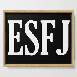 ESFJ Personality Type Serving Tray
