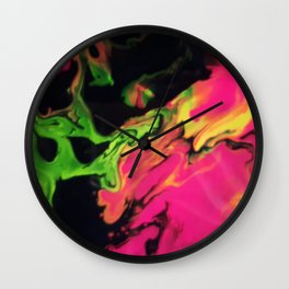 Monster Within Wall Clock