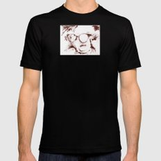 The Visionary Sepia Black Mens Fitted Tee MEDIUM