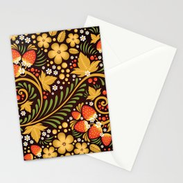 Native floral ornament Stationery Cards
