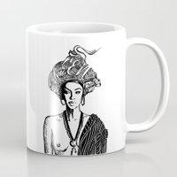 goddess Mugs featuring Goddess by Fen_A
