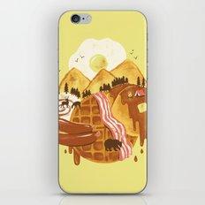 Breakfastscape iPhone & iPod Skin