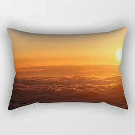 A View From Above Rectangular Pillow
