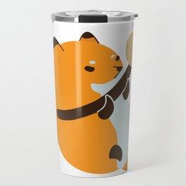 Smol Bean Fox Travel Mug