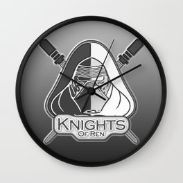 Knights of Ren Wall Clock