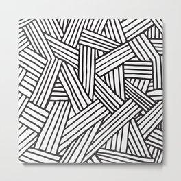 InterLines Metal Print