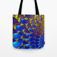 fractal Tote Bags featuring Fractal. by Assiyam
