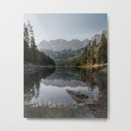 Lake View - Landscape and Nature Photography Metal Print