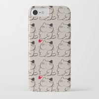 calcifer iPhone & iPod Cases featuring cats II by ururuty