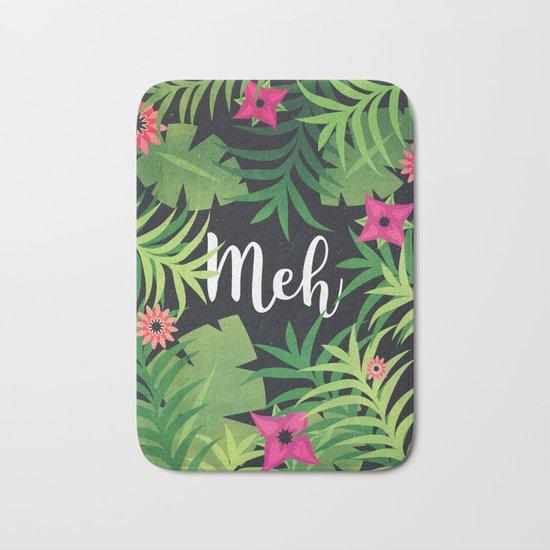 Meh Jungle Print Bath Mat