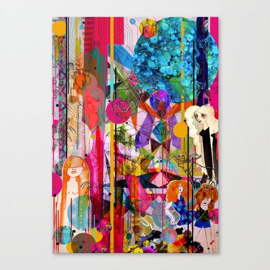 Aimee's World Canvas Print