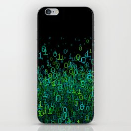 Binary Cloud iPhone Skin