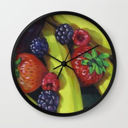 Fruit Bunch Wall Clock