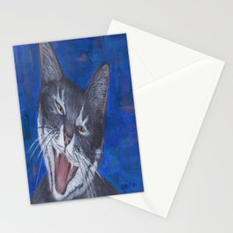 Happy Cat - Gracie Stationery Cards