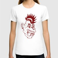 punk T-shirts featuring Punk by Adam Metzner