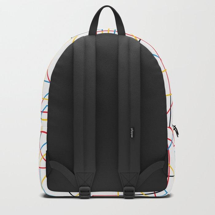 STRIKE w/white Backpack