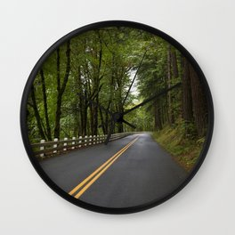 On the Road. . . Wall Clock
