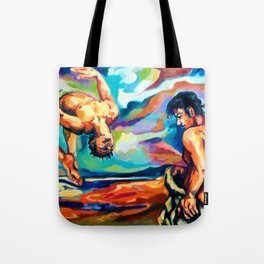 Paths. Air and water Tote Bag