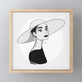 Audrey Framed Mini Art Print