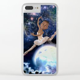 The Moon Dancer Clear iPhone Case