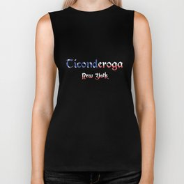 Ticonderoga New York Biker Tank