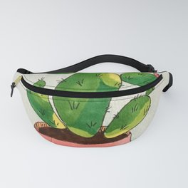Pink Cactus Fanny Pack