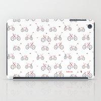 bikes iPad Cases featuring bikes by Marcelo Badari