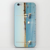 san diego iPhone & iPod Skins featuring San Diego by Audrey Mourgues