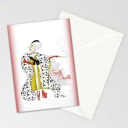 Dis Fashion, Cruella Stationery Cards