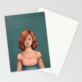 Standing here Stationery Cards