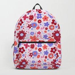Garden Fantasy - Warm Colors Backpack