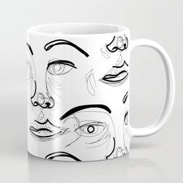 Face Off (2) Coffee Mug
