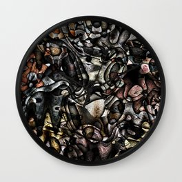 Chaos N°1 Wall Clock