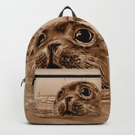 The SEAL - sepia 17 Backpack