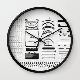 Typewriter 5 Wall Clock