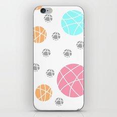 Broken Orbs (ColorOnWhite) iPhone & iPod Skin