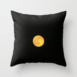 Honey Moon Throw Pillow