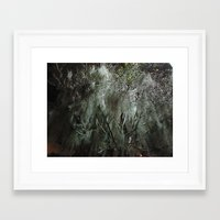 moss Framed Art Prints featuring Moss by Saundra Myles