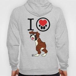 I Heart furBags -Boxer Hoody