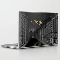 saturn Laptop & iPad Skins featuring Saturn by Cs025