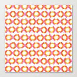 XOXOXOXOXO Canvas Print