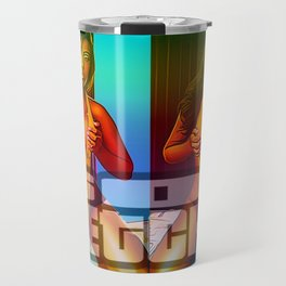 DIMEPIECES: MOCHA BROWN Travel Mug
