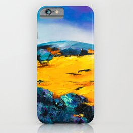 Provencal countryside iPhone Case
