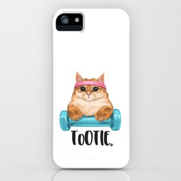 Let's Workcuddle iPhone Case