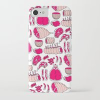 meat iPhone & iPod Cases featuring Meat by Rot Rabbit
