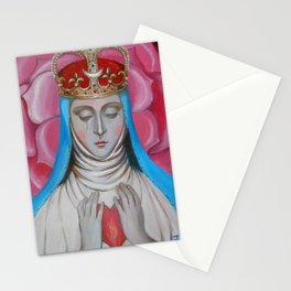 Madonna of tears Stationery Cards