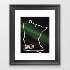 We are North 2 Framed Art Print